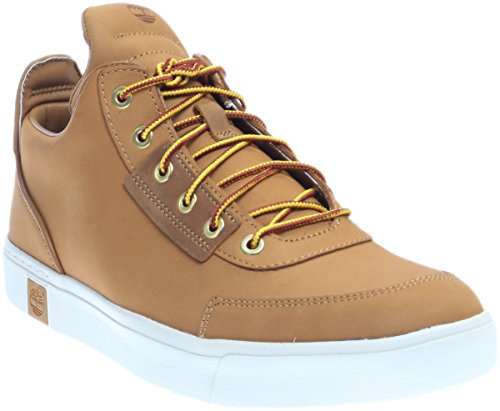 Amherst Shoe (Timberland Men's Amherst High Top Chukka Fashion Sneaker, Wheat Nubuck, 10 M US)