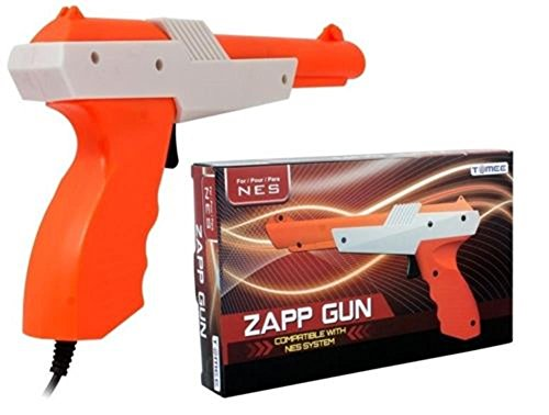 Video Game Accessories Brand New Zapper Light Gun Nintendo NES - Play Duck Hunt, Hogan's Alley & More.. (Duck Hunt With Zapper)