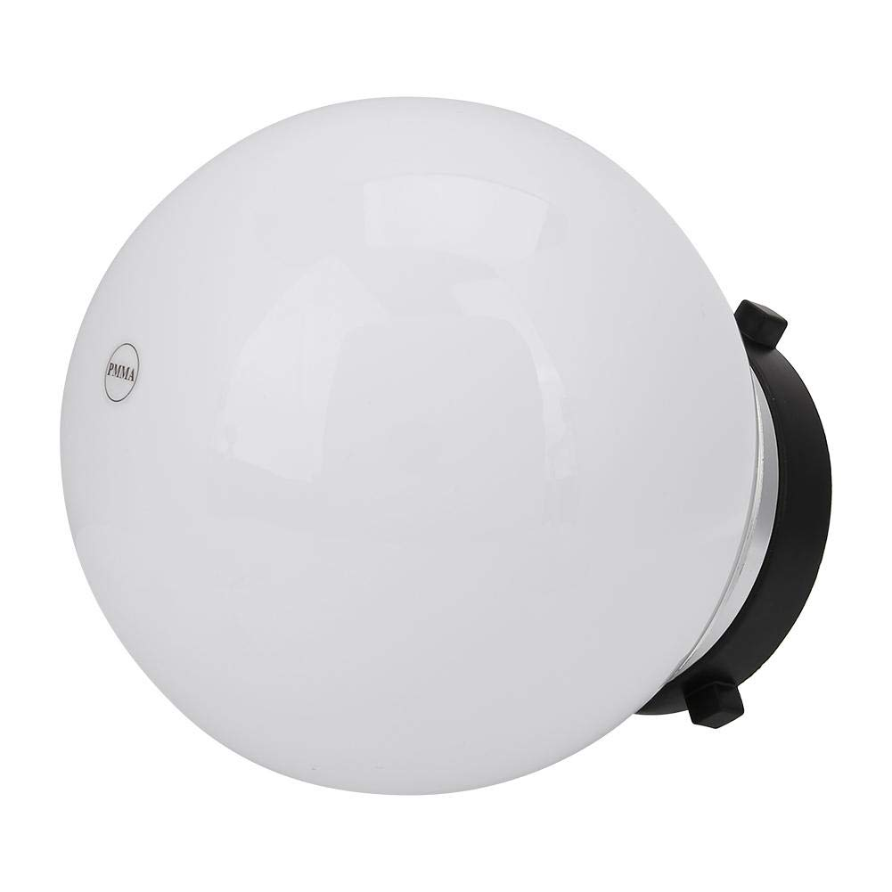Vbestlife Softbox Studio Fotograf/ía Difusor para Beb/é Softbox Studio Accesorios para beb/é ni/ño. 15cm Universal Fotograf/ía Difusor Soft Ball Dome Blanco