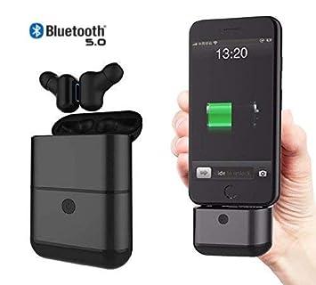 Auriculares Bluetooth Mini en la Oreja, Auricular inalámbrico con micrófono Incorporado para iPhone X /