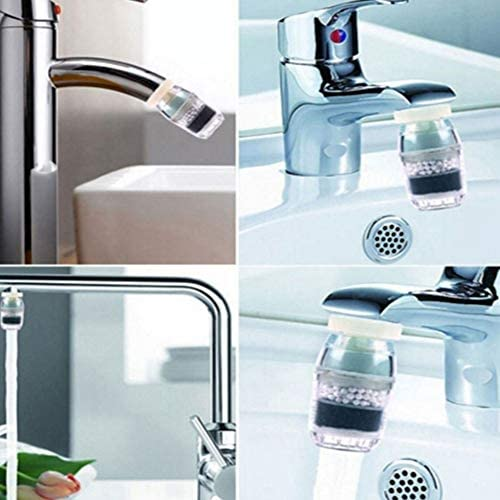 Offices Housewares Outdoor Water Clean Purifier Maserfaliw Household Activated Carbon Cartridge Faucet Tap Water Clean Purifier Filter Tool Random Color Holiday Gifts.
