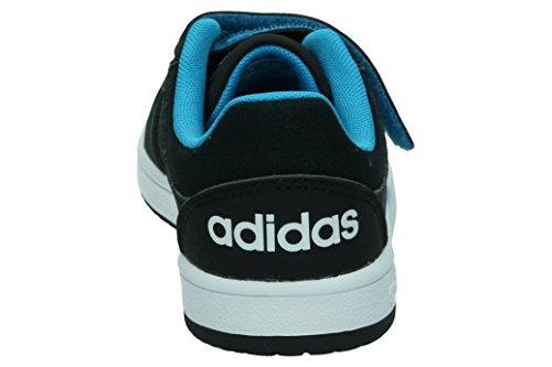 adidas VS HOOPS CMF C - Zapatillas deportivaspara niños, Negro - (NEGBAS/AZUSOL/FTWBLA), 33