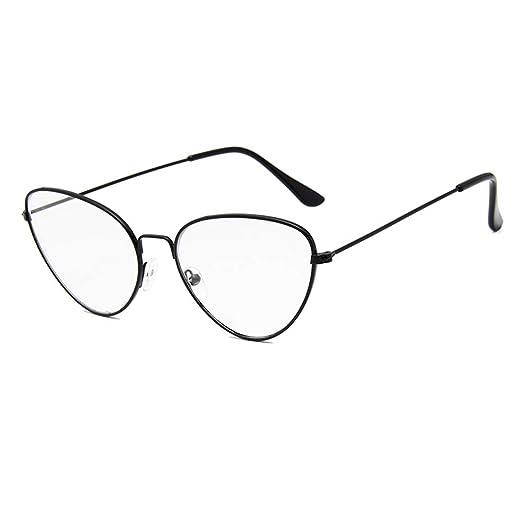 d1d2aa12c2d5 Classic Vintage Clear Lens Glasses Fashion Cat Eye Design Eyewear  Non-Prescription Glasses Frames For