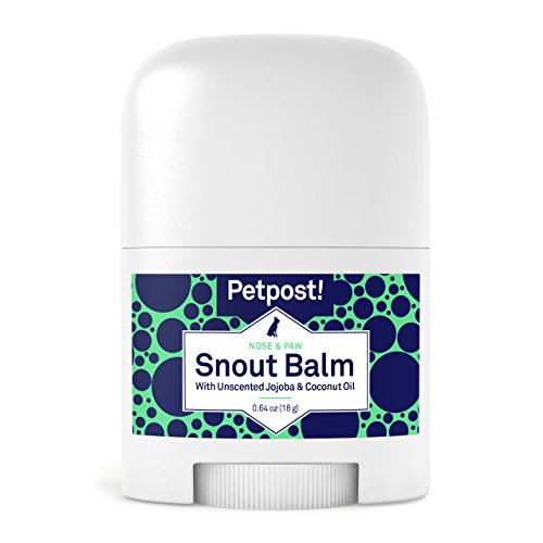 (Petpost | Snout Balm for Dogs - Nourishing Snout Soother Balm Heals Dry Dog Noses with Organic Ingredients - Moisturizing Coconut Oil, Jojoba Oil, and Shea Butter)