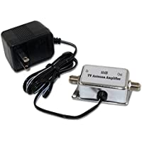 MyCableMart Antenna Signal Amplifier (25dB) 50Mhz-860Mhz, Powered