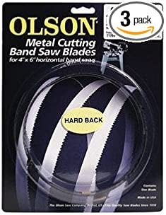 Olson  64.5 in HB71864DB L x 0.5 in W Metal  Band Saw Blade