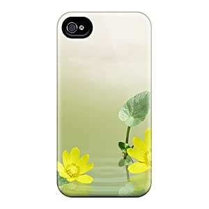 Iphone Covers Cases - Floating Yellow Flowers Protective Cases Compatibel With Iphone 6