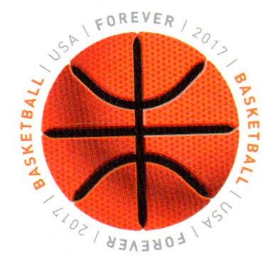 USA Postage Stamp Single 2017 Basketball Issue Forever Scott #5208