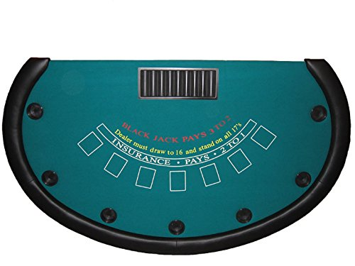 Professional Blackjack Table 73 Inch by 43 inch - Made in the USA by ACEM Casino supplies