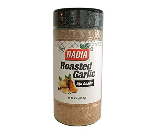 6 oz-Roasted Garlic Ground Powder/Ajo Asado en Polvo Molido Kosher ()