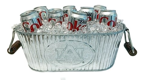 Auburn Universty Tailgater Tub - Auburn Tigers Beverage Tub Shopping Results