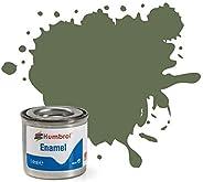 Humbrol Enamel Paint Tinlet 14ml Matt Ocean Grey (106)
