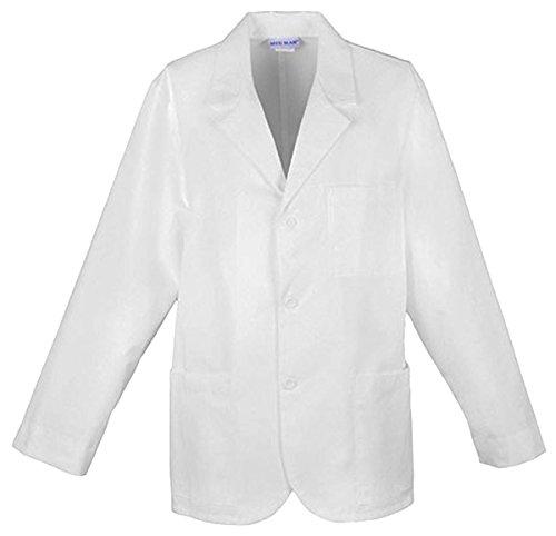 Cherokee Men's 31 Inch Consultation Lab Coat, White Large