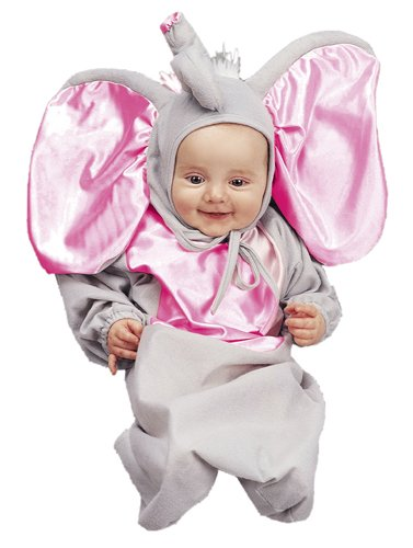 Little Elephant Baby Bunting Halloween Costume