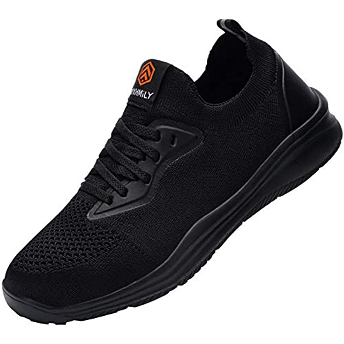 DYKHMATE Steel Toe Shoes for Women Water Resistant Lightweight Ladies Safety Sneakers Comfortable Safety Toe Work Shoes Breathable Construction Shoe