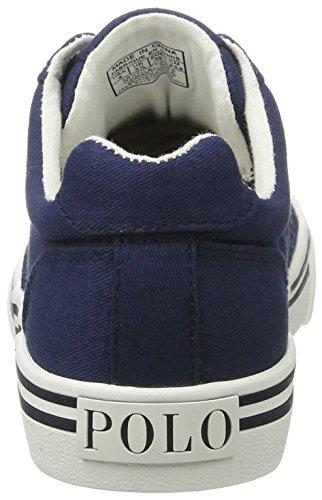 Ralph Lauren Hanford, Zapatillas Para Niños Blau (Navy Twill w/ multi pp)