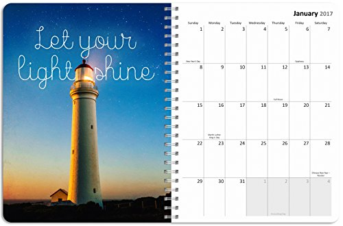 2017 Academic Year Bloom Where You Are Planted Spiral Engagement Planner