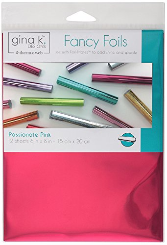 Gina K. Designs for Therm O Web 18035 Fancy Foils, 6