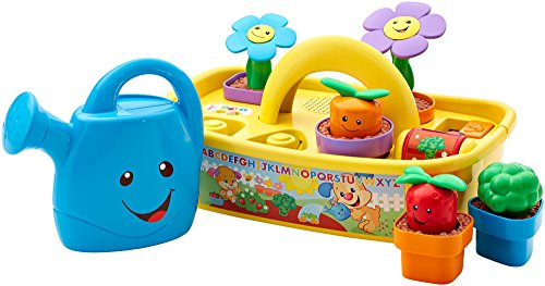 41rGPRbzPTL - Fisher-Price Laugh & Learn Smart Stages Grow 'n Learn Garden Caddy (Amazon Exclusive)