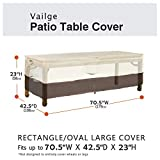 Vailge Veranda Rectangular/Oval Patio Table