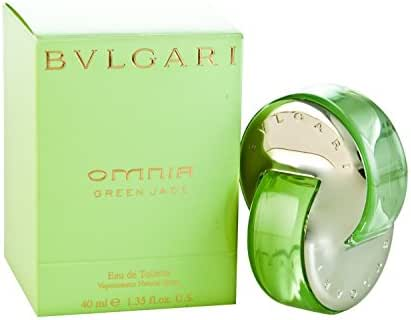 Bvlgari Omnia Green Jade Women Eau De Toilette Spray by Bvlgari, 1.35 Ounce