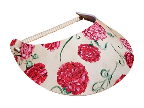 The Incredible Sunvisor Flower Patterns Perfect for Summer! Made in The USA!! (Floral 29)]()