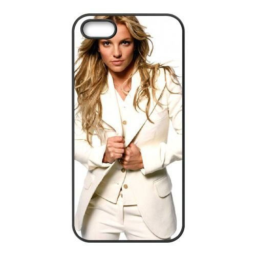 Britney Spears In Coat Dress coque iPhone 5 5S cellulaire cas coque de téléphone cas téléphone cellulaire noir couvercle EOKXLLNCD22470