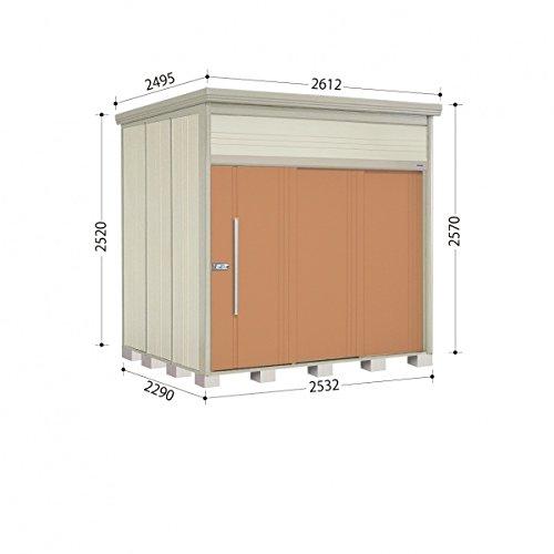 タクボ物置 JN/トールマン JN-2522 一般型 標準屋根 『屋外用中型大型物置』 トロピカルオレンジ B00ADLB5BO