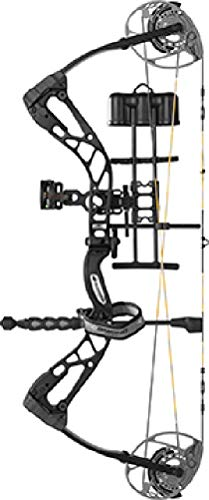 Diamond Archery Edge 320 70 lb Compound Bow Black Package Left Hand (Best Compound Bow For The Price)