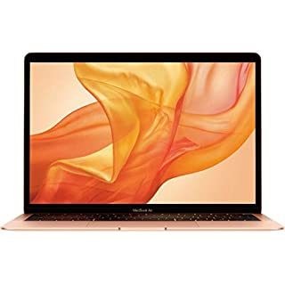Apple MacBook Air 13.3in Retina Display MRE82LL/A Late 2018 - Intel Core i5 1.6GHz, 16GB RAM, 512GB SSD - Gold (Renewed)
