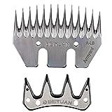 MUDUOBAN Sheep Shears Blades Straight 13 Tooth