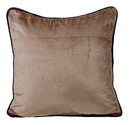 The HomeCentric marrón Fundas para Cojines 35 x 35 cm ...