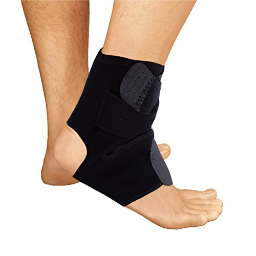 LONG7INES Ankle Support with Cross Auxiliary Fixing Belt Strength Protection for Pain Recovery and Enhanced Circulation