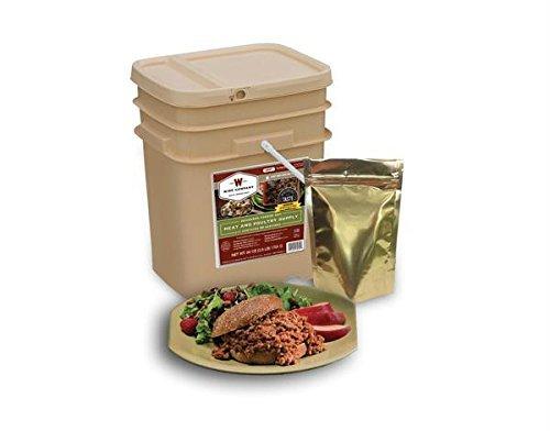 Price comparison product image 60 Serving + 20 Bonus Rice Servings Freeze Dried Meat Bucket