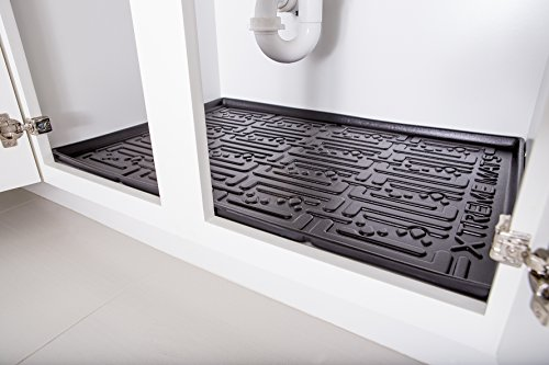 Xtreme Mats Under Sink Kitchen Cabinet Mat 33 3 8 X 21 5