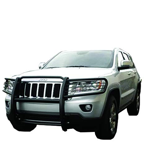 BLACK HORSE Off Road 17A080200MA Black Grille Guard Brush Guard (Grille Horse)