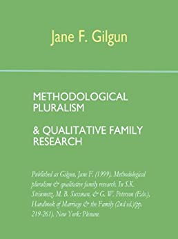 methodological pluralism Conclusion: methodological pluralism and epistemology between and beyond relational methods methodological pluralism.