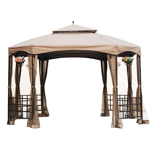 Garden Winds Sienna Octagon Gazebo Replacement Canopy and...