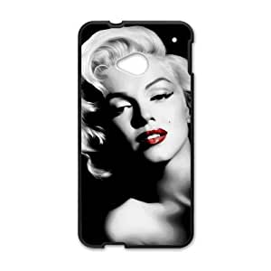HTC One M7 Cell Phone Case Black Marilyn Monroe 004 SYj_760025