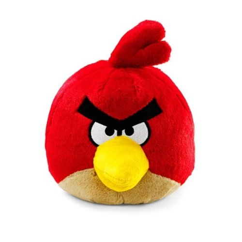 Angry Birds Plush 8-Inch Red Bird with