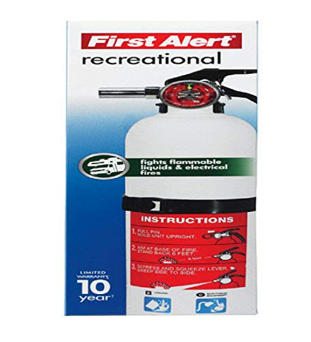 (First Alert Rec5 Rechargeable Recreational Fire Extinguisher)
