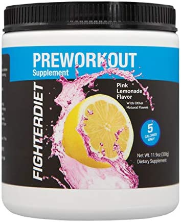 Fighterdiet Pre-Workout – Pink Lemonade