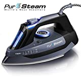 Professional Grade 1700W Steam Iron for Clothes with...