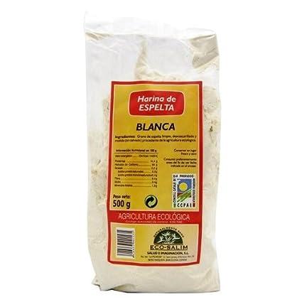 harina espelta blanca eco int-salim 500 gr: Amazon.es: Salud y cuidado personal