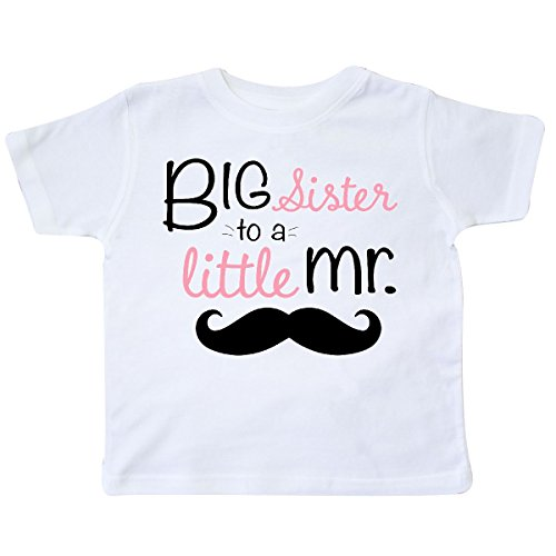 er to a Little mr Toddler T-Shirt 2T White ()