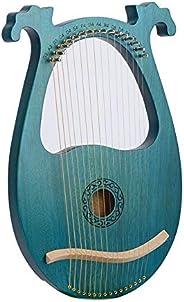 Harp Harp 16/19 Tone Metal String Bone Saddle Mahogany Harp Harp 16 Notes Portable Stable Sound Quality Harp B