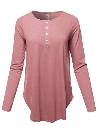 Rose Pink Shirt Top - 9