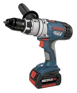 Bosch 17618-01 18-Volt 1/2-Inch Brute Tough Litheon Hammer Drill/Driver with 2 Fat Batteries