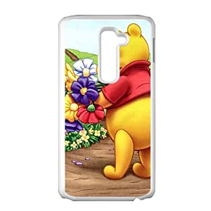 Winnie the pooh Case Cover For LG G2 Case