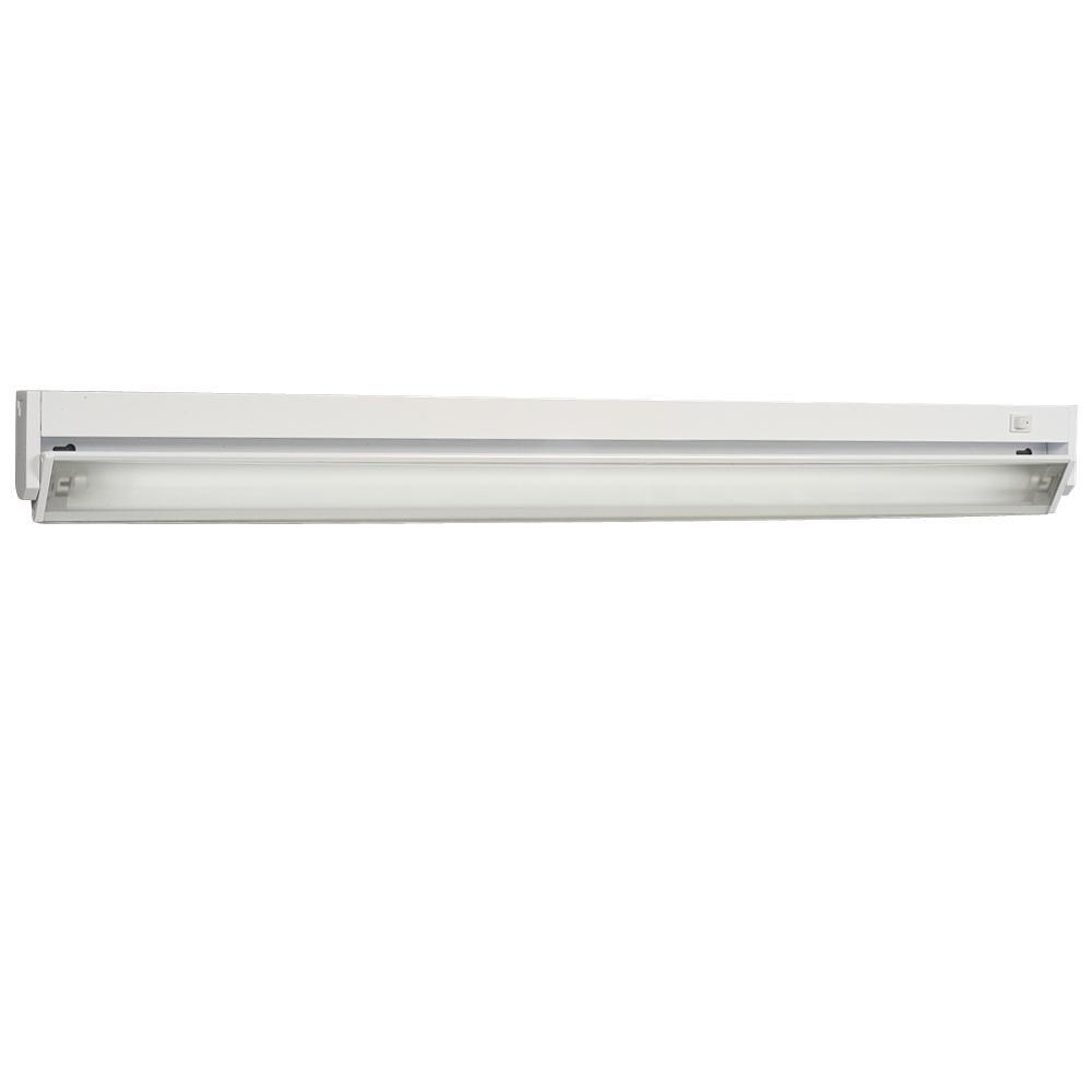 Galaxy Lighting 420536WH Fluorescent Strip Under Cabinet Light,